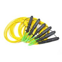 Buy cheap H Connector 1 fiber single mode cable matching with Corning OptiTap Hardened Connectors from wholesalers