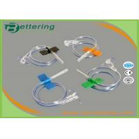 Buy cheap Disposable Sterile Vacuum Blood Collection Needles , Butterfly Needle Blood Draw from wholesalers