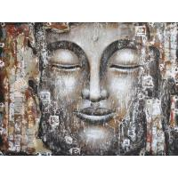 China asian style modern buddha oil painting on sale