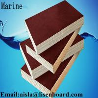 Buy cheap FFP phenolic marine plywood,construction plywood,18mm black or brown film faced plywood from wholesalers