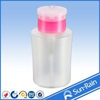 Buy cheap Chemical resistant plastic empty nail polish remover pump dispenser bottle from wholesalers