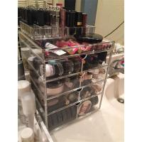 Buy cheap Clear acrylic/Perspex cosmetic/PMMA material makeup drawer organizer with drawer from wholesalers
