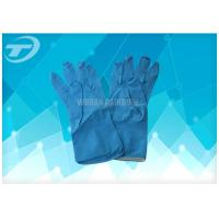 Buy cheap Dip Flock - Lined Latex Household Medical Disposable Gloves Waterproof , Anti Oil And Anti Alkali from wholesalers