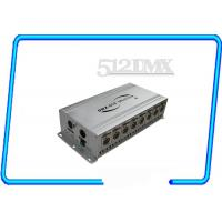 Buy cheap Eight Way Signal DMX Amplifying Distributor / Signal Distributor dmx opto splitter from wholesalers