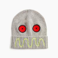 Buy cheap BOY'S 65/30/5 cotton/nylon/merino wool KNITTED BEANIE HAT WITH EMBROIDERY from wholesalers