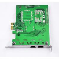 Buy cheap Dual span asterisk E1/T1 pri card PCIe interface for PRI call terminal from wholesalers