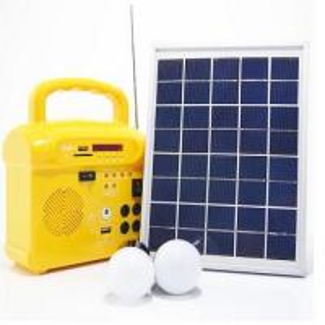 China 10 Watt Off Grid Solar Power System Kits Lithium / Lead Acid Battery With LED Indicators on sale