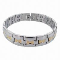 Buy cheap Wholesale Egypt Style Hot Selling Bracelet, Made of Stainless Steel/Titanium Materials product