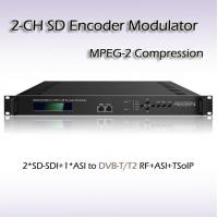 Buy cheap REM7204 Two-Channel Video Processor SD-SDI TO DVB-T MPEG-2 SD Encoding Modulator from wholesalers