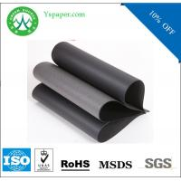 Buy cheap Rolling paper mill 350gsm recycled paper black paperboard from wholesalers