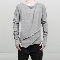 Buy cheap Winter Men's Fashion Long Sleeve T Shirts , Breathable Plain Stylish T Shirts from wholesalers