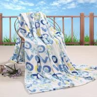 Buy cheap All Season Printed Coral Custom Fleece Blankets , 100% Polyester Blanket for Adults from wholesalers