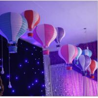 Buy cheap Hot Air Balltoon Paper Lanterns, Shopping Arcade Celebrations, Birthday Parties, Kindergarten Hanging Ornaments product