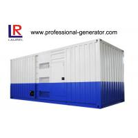Buy cheap 1250Kva High Voltage 1000kw Soundproof Diesel Generator at 60HZ with Water Cooling Cycle product