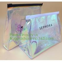 Buy cheap professional waterproof small makeup bag with logo printing,Fashion Promotional PVC Cosmetic Bag Makeup Bag bagplastics from wholesalers