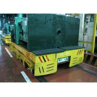 Buy cheap Inplant Mold Coil Handling Flat Cart Mounted Rail Matching Crane Forklift from wholesalers