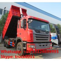 Buy cheap China High reliability JAC Gallop 6x4 tipper truck 30ton 40ton 50ton Dump truck Lifting system dise Jianghuai tipper from wholesalers