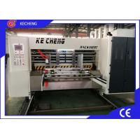 Buy cheap Lead Edge Feeding Flexo Corrugated Machine High Speed from wholesalers