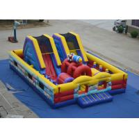 Buy cheap Durable Big inflatable fun city - airplane theme fun city at Xincheng inflatables ltd from wholesalers