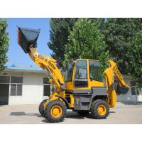 Buy cheap Digger backhoe digging machine with backhoe attachments import earthmoving machinery from wholesalers