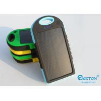China Outdoor sport Universal Dual USB Portable Solar Charger Power Bank For Samsung / Motorola / HTC on sale