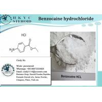 Buy cheap Local Anesthetic Pharmaceutical Raw Material Benzocaine Hydrochloride For Pain Relief from wholesalers