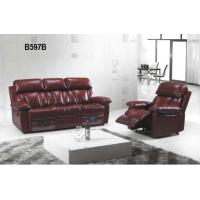 Buy cheap fearured affordable home sofa sets Modern Living Room Furniture Genuine/PU Leather Sofa from wholesalers