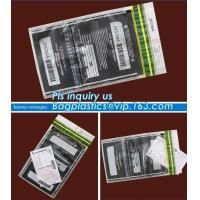 Buy cheap TAMPER EVIDENT DEPOSIT BAGS, Personal Property Protection Bags Security Mailer Bags Custom Security Bags, BAGPLASTICS PA from wholesalers