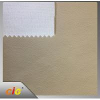 Buy cheap Strong Knitting TC Backing Artificial PU Synthetic Leather For Car Seat product