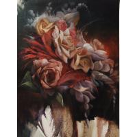 Buy cheap Diamond Painting Flower pink rose diamond embroidery home art from wholesalers