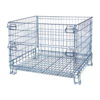 Buy cheap Adjustable Wire Cage Shelf , Custom Steel Security Cage With Dual Hinge Doors from wholesalers