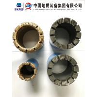 Buy cheap High Reliability Impregnated Diamond Core Drill Bits DCDMA BC NC NC3 HC HC3 PC3 from wholesalers
