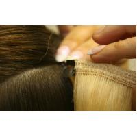 Buy cheap Straight Human Hair Clip In Hair Extension Tangle Free 120g 8 pieces / Bundle from wholesalers