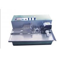 Buy cheap High Efficiency Solid Ink Roll Automatic Coding Machine For Printing Production Date from wholesalers