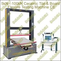 Buy cheap 5kN/10kN/20kN Computer Control Ceramic Tiles and Gypsum Board Flexure/Bending Testing Machine from wholesalers