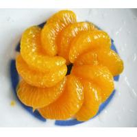 Buy cheap Yellow Canned Mandarin Oranges Slice Shape In Light / Heavy Syrup product