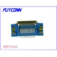 Buy cheap R / A PCB 36 Pin Centronics Connector Champ Plug Connector With Rivet L Bracket from wholesalers
