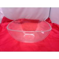 Buy cheap Food-grade Square Clear Acrylic Bowl For Salad / Fruit 230 by 110mm from wholesalers