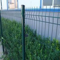 Buy cheap Green RAL6005 Weld Wire Mesh Decorative Fencing Designs for Public from wholesalers