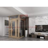 Buy cheap E Frame Hoistway Residential Home Elevators Compact Home Lifts Low Maintenance Cost from wholesalers