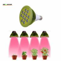 Buy cheap 24w Led Grow light Bulb E27 AC85-265V Miracle Grow Plant growing Lamp Light for Hydropoics Organic Mini Greenhouse from wholesalers