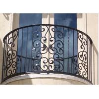 China Top-selling hand forged wrought iron balcony railing on sale