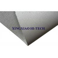 Buy cheap Grey Silicone Rubber Coated Fiberglass Cloth , Silicone Impregnated Fabric from wholesalers