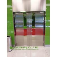 Buy cheap Double-leaf Fire-rated Glass Door,Stainless steel fire rated emergency exit door from wholesalers