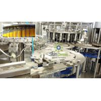 Top quality PET Bottle Fruit Juice Production Line 3 in 1 Washing Filling Capping for sale