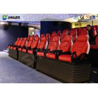 Buy cheap Fiber Glass Ride Experience 5D Movie Theater Simulator System With Red Chair product