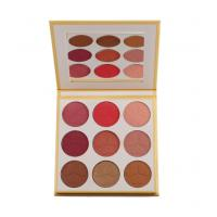 Buy cheap 9 Color Matte Face Makeup Blush Powder Pink Charger Plates Private Label from wholesalers