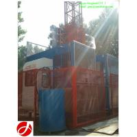 Buy cheap CE verified SC200/200 2t construction hoist for construction project from wholesalers