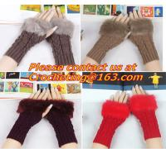 Buy cheap Pineapple Dot Women Knit Warm Winter Gloves Crochet Hand Warmers Computer Mittens from wholesalers