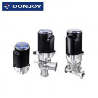 Buy cheap Stainless Steel Intelligent Valve Positioner Electric Diaphragm Valve FDA / CE / ISO from wholesalers